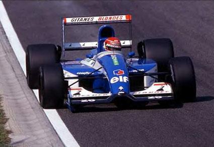 Ligier, equipe histórica de Formula 1 de 1992 - by renaultf1passion.free.fr